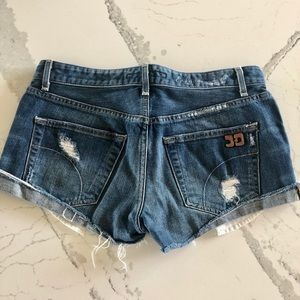 Jose's Jeans Ex-Lover distressed shorts size 27
